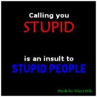 sarcastic quotes photo: callingyoustupidinsult.jpg
