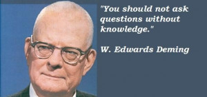 edwards deming famous quotes 4