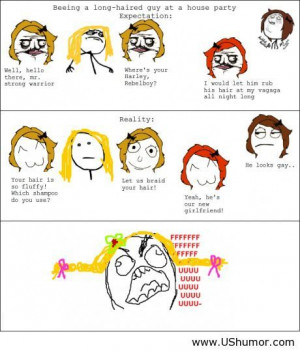 Hair rage comics US Humor - Funny pictures, Quotes, Pics, Photos, I...
