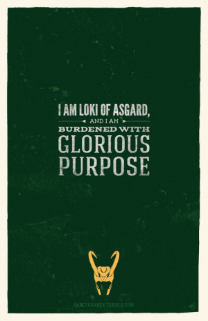 Marvel Quotes Poster Series