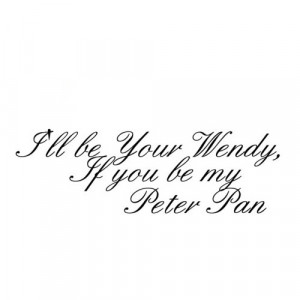 Peter Pan Tumblr Background Peter pan quote ♥ credit me