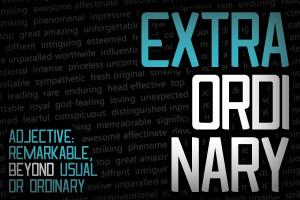 Be Extraordinary Be Extraordinary - Images