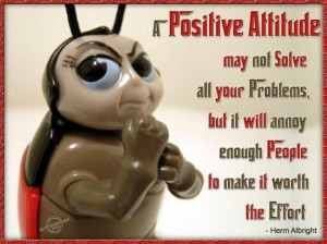 positive attitude may not solve all your problems but it will annoy ...