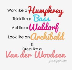 Very Memorable Quotes from Blair Waldorf ...