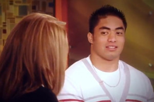 Te'o did an interview with Katie Couric to try and explain ...