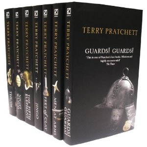 Terry Pratchett- Eight of the Discworld novels are concerned with the ...