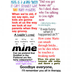funny quotes ♥ - Polyvore