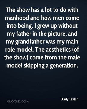 Male Role Model Quotes. QuotesGram