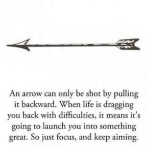 The arrow will be tattooed on my side, ride below my ribs, shooting ...