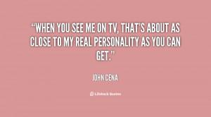 Quotes by John Cena