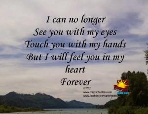 Saying good bye is never easy.