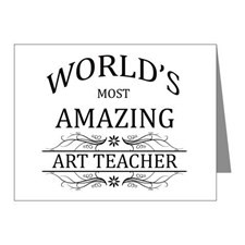 World's Most Amazing Art Tea Note Cards (Pk of 10) for