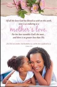 ... All the Love/ Mother's Love African American Mother's Day Bulletin