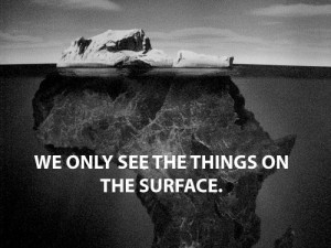 africa, beautiful, black and white, quote, rock, text, typography