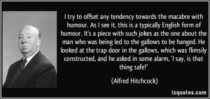 More Alfred Hitchcock Quotes