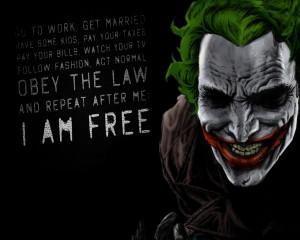 joker- i am free