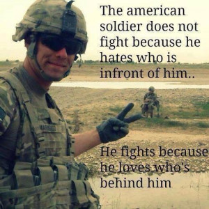 God bless our troops. ♥
