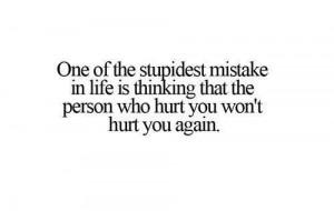 Stupid mistake