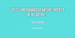 Quotes About Paranoid People
