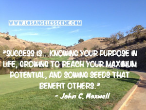 Inspirational Quote John C. Maxwell