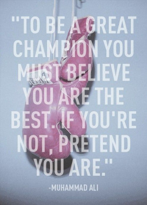 muhammad ali, quotes, sayings, inspiring, great, champion / Inspira...