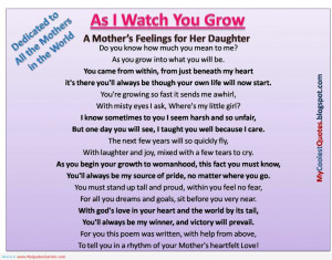 Mothers Daughters Quotes, Gardens Quotes, Growing Up, Mothers Quotes ...