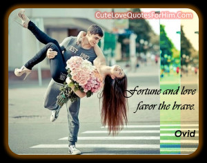 cute quotes for him from the heart