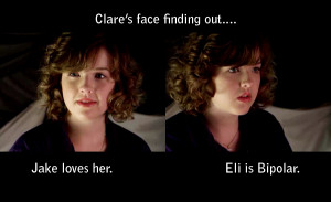 Degrassi Eli and Clare Quotes