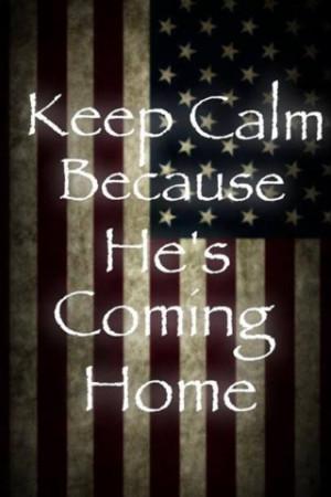He's coming Home!!!