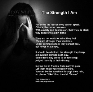 Battling #anxiety and #depressionPtsd Quotes Trauma, Strength Quotes ...
