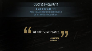 After the planes: How the world changed