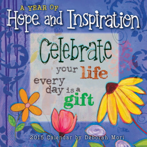 Year of Hope And Inspiration Mini Wall Calendar 2015 9781416296218