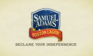 ... Sam Adams' Commercial Quotes Declaration of Independence But Omits God