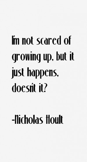 Nicholas Hoult Quotes & Sayings