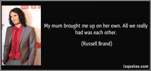 More Russell Brand Quotes
