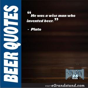 Craft Beer Defined: Beer Quotes #plato #wise #beer #craftbeer #quotes ...