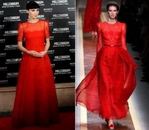 Oscars Beauty Rooney Mara