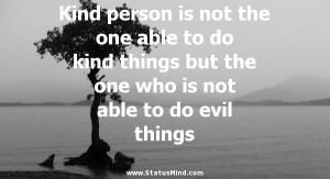 Quotes About Kind People Kind Person Quotes Kind Person