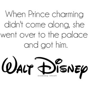 cinderella, disney, prince charming, quote - inspiring picture on Favi ...