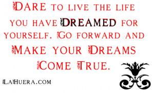Week 4 – Dd – Dream (verb & noun)