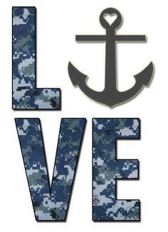 Navy Love Hooyah More
