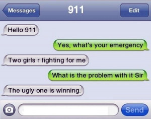 Funny Text Appropriate 911 Quotes