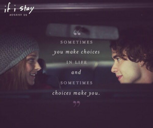 If I Stay book quote. This book made me cry and cry and cry :'( Poor ...
