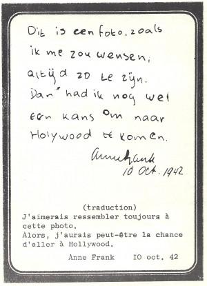 ... Anne Frank