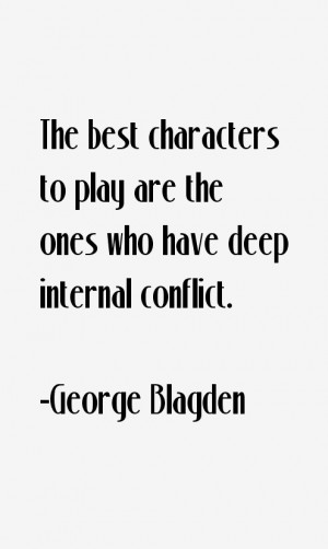 George Blagden Quotes & Sayings