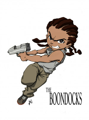 The Boondocks is an American animated series created by Aaron McGruder ...