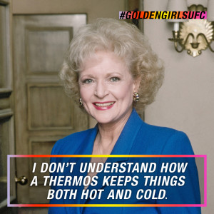 Oh, Rose! Watch Golden Girls tonight at 8/7c on Logo!