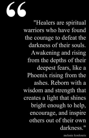 spiritual warriors... to make one is like the hardest workout regimen ...