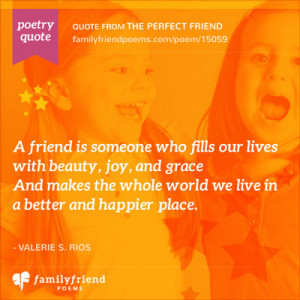 Inspirational Friend Poems and Quotes