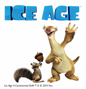Sid & Scrat from Ice Age